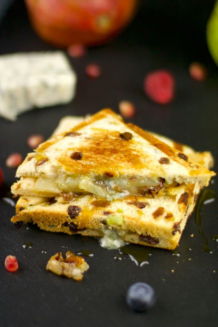 Rosinenstuten-Sandwich