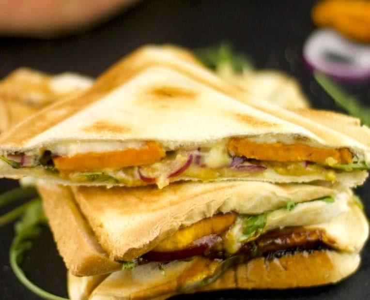 Süßkartoffel-Sandwich